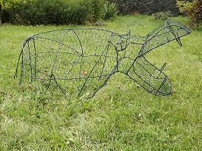 Bukszpanowa figura Hipopotam 319.00 PLN